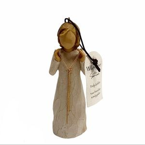 Willow Tree Truly Golden wood friendship figurine